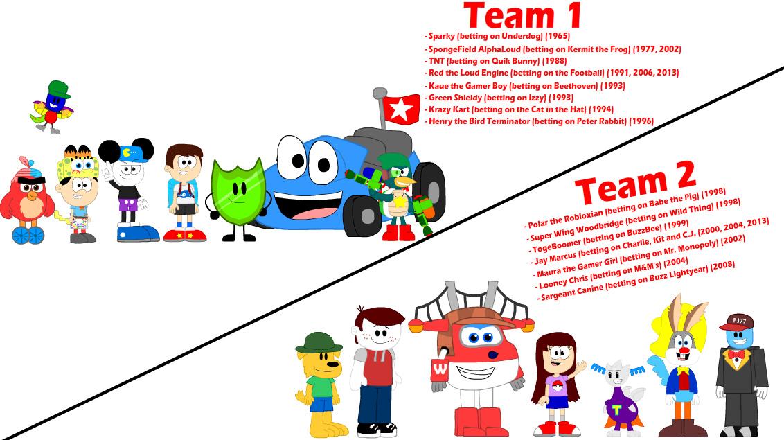 Hunterthebird/Every Balloon Bet Team