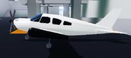 New plane left