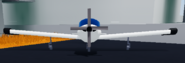 New plane front