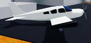 New plane right