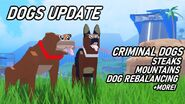 Criminal dog update