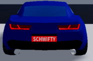 New camaro rear