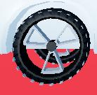 Tread wheels