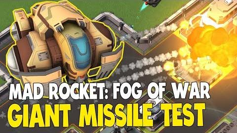 Mad Rocket- Giant Missile Test - Air Guardian