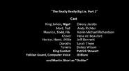 The Really, Really Big Lie, Part 2 credits