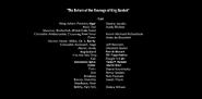 The Return of the Revenge of King Goobot Credits