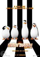 Пингвины Мадагаскара постер