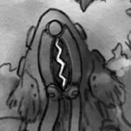 One of the 4 Interference Units Gannja encountered on the 6th Layer Manga