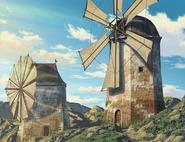 Windmills in Orth