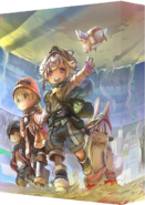 Made in Abyss Movie 3 Dawn of the Deep Soul Blu-Ray coverbox art