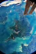 UK from ISS