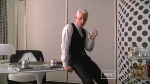 Mad Men - Season 5 - 'Roger Is Back' Teaser