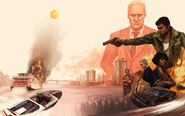Mafia III Artwork Wallpaper