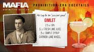 Salieri's Bar Cocktail 1