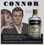 Connor Aftershave Ad