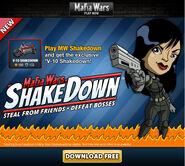 Shakedown promotion