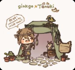 Mage ginkgo tanuki by creamboys-d5e302u.png