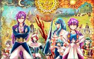 Adventure of Sinbad manga