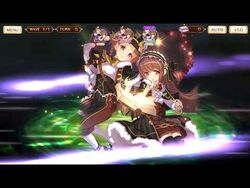 Magia Record Touka & Nemu(Holy Night ver.) Magia Christmas Ghost's coming