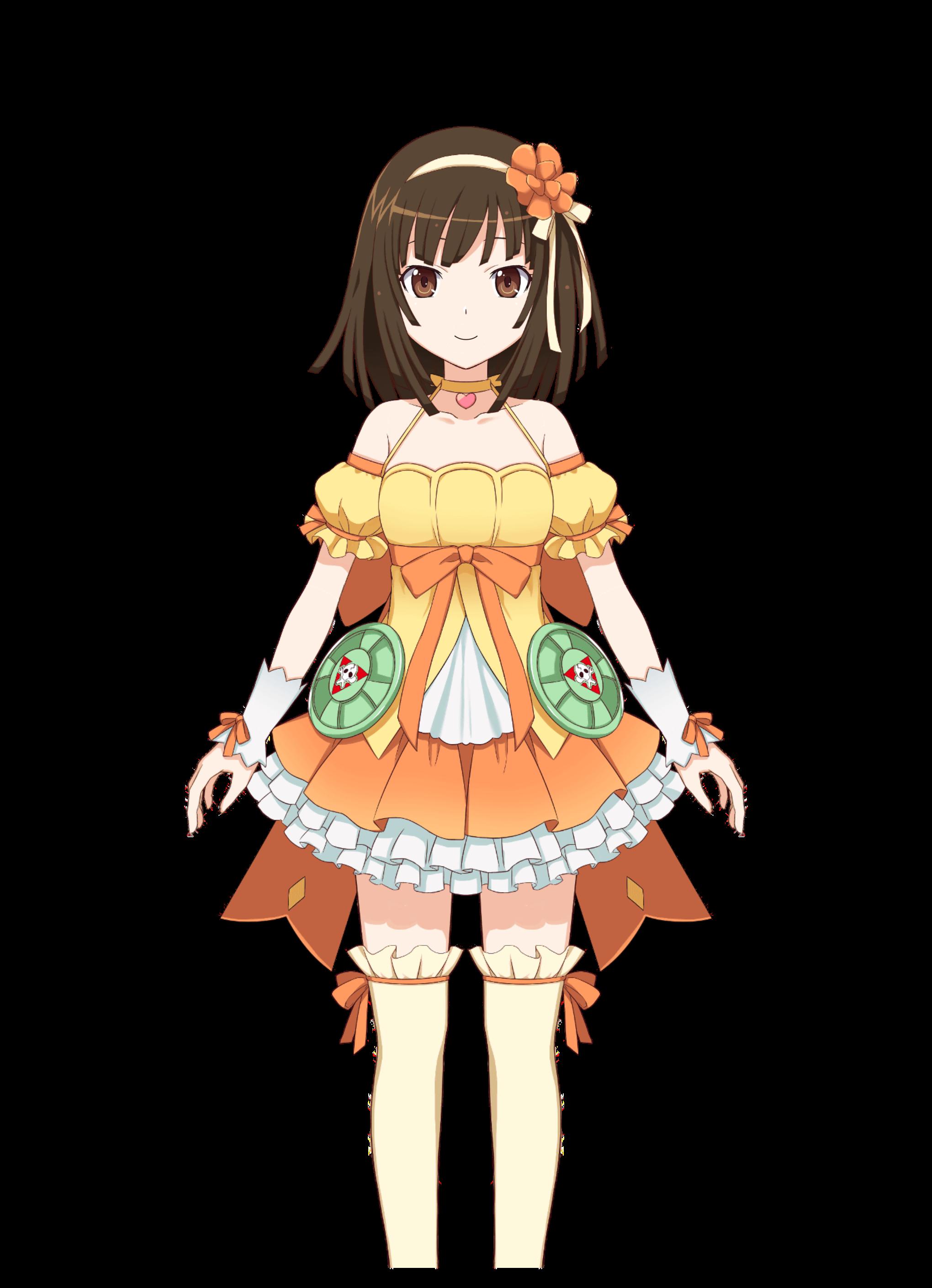 Sengoku Nadeko/Costumes