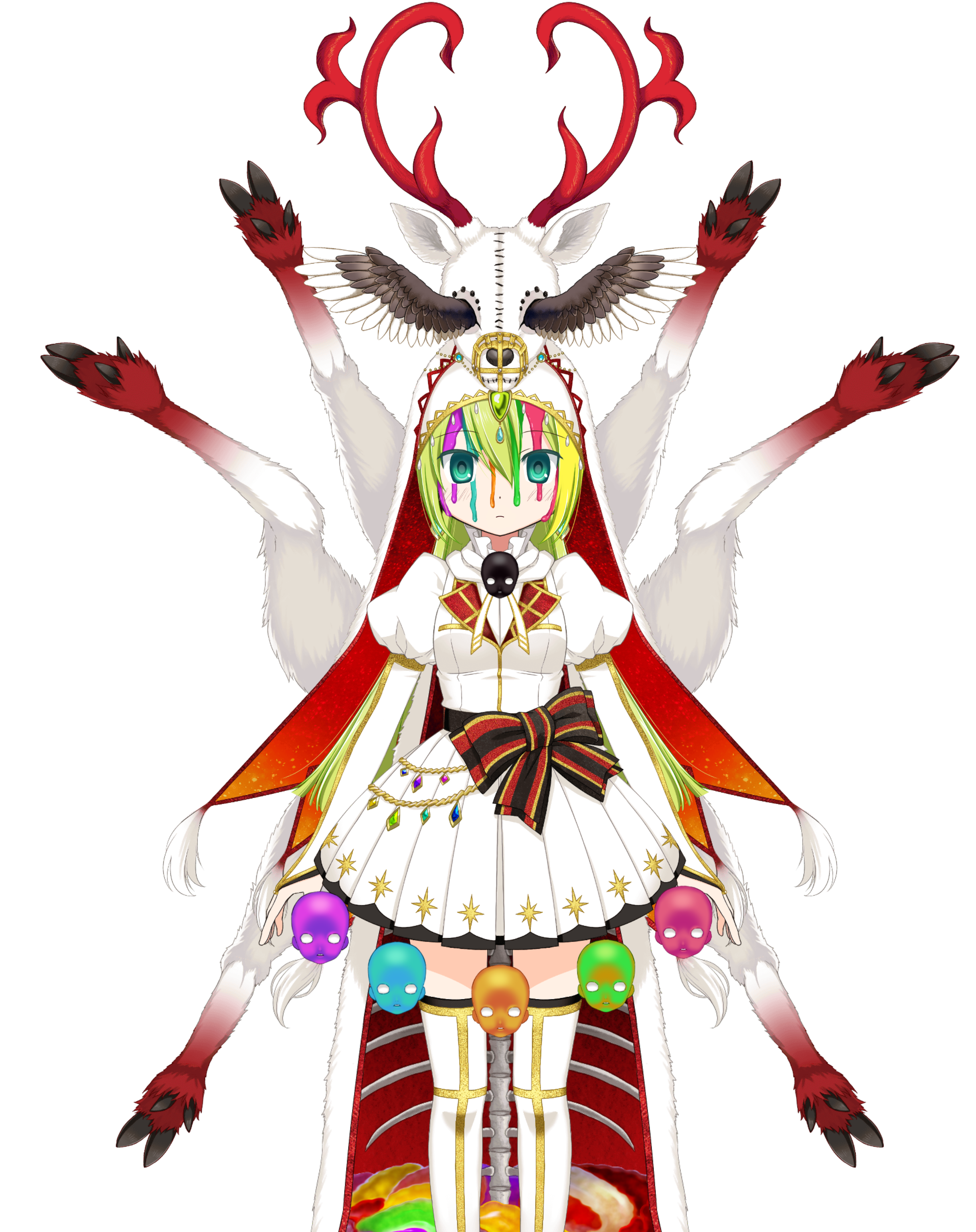 Holy Alina (Final Form)/Costumes