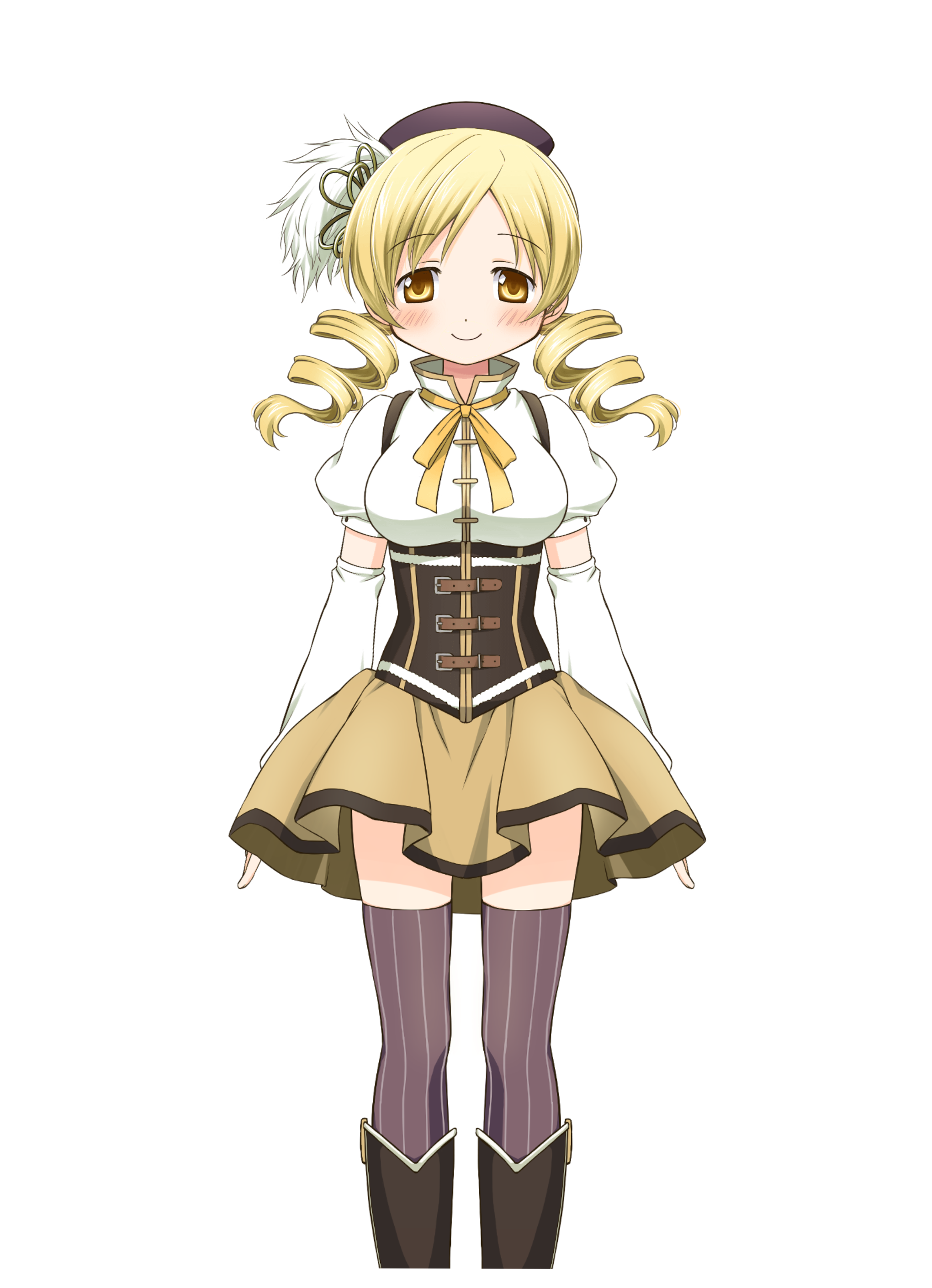 Tomoe Mami/Costumes