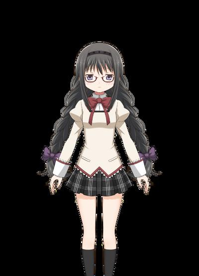 Akemi Homura (Megane ver.) Pre-Transformation.png