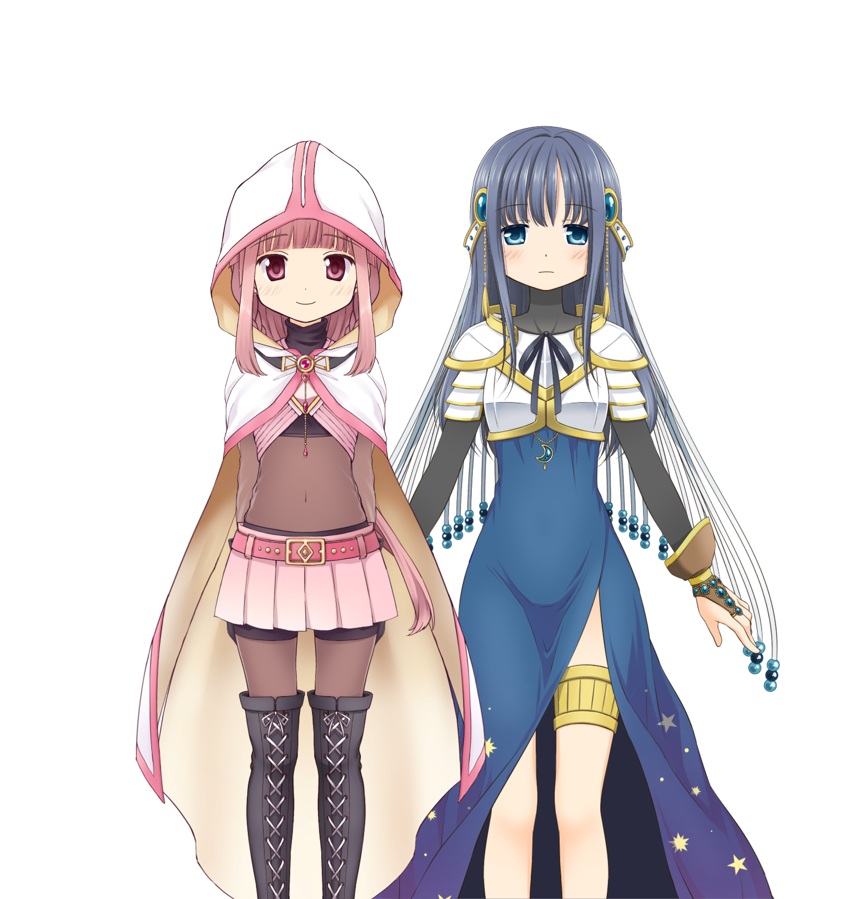 Iroha & Yachiyo (Final Battle ver.)/Costumes
