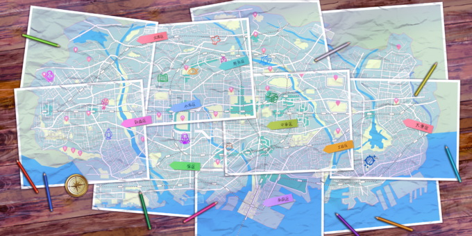 Kamihama City Map.png