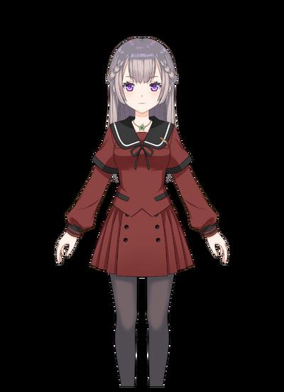 Shizumi Konoha Pre-Transformation.png