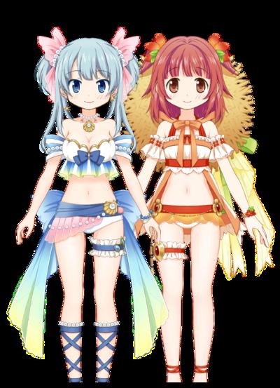 Rena & Kaede (Mizugi ver.) Rena & Kaede (Mizugi ver.).png