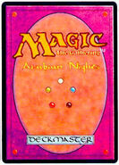 Magic card back 2