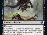 Schwarzer Drache