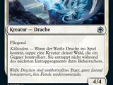Weißer Drache