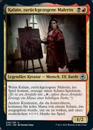 Kalain, zurückgezogene Malerin