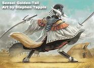 Golden-tail