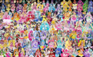 150 Pretty Cure Warriors with Fairies (Updated2)
