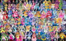 103 Pretty Cure Warriors with Fairies