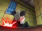 Kamichama Karin Kirio using an attack4