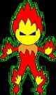 Magic Heart Monster 6 Pyro pose