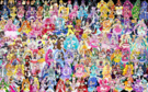 145 Pretty Cure Warriors with Fairies