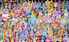146 Pretty Cure Warriors with Fairies