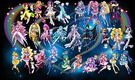 27 Pretty Cure Warriors with Fairies