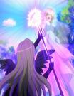 Kamichama Karin Nyx using the Terebro Nox attack3