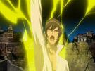 Kamichama Karin Kirio summoning the Zeus weapon2