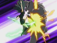 Yume Note Shinra using her Valkyrie Boots attack.jpg