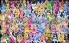 83 Pretty Cure Warriors with Fairies
