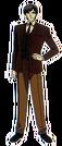 Cutie Honey Flash Dr. Kisaragi pose