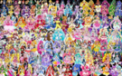 147 Pretty Cure Warriors with Fairies