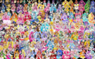 160 Pretty Cure Warriors with Fairies